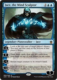 Jace, the Mind Sculptor - Foil - Masters 25