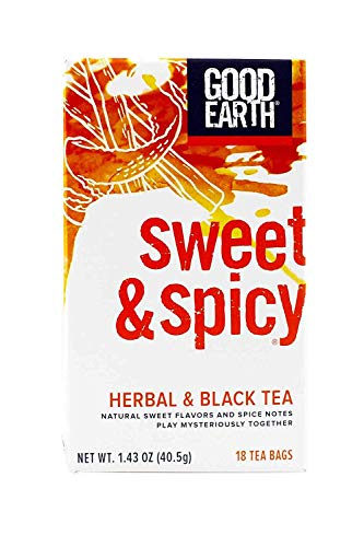 Good Black Tea Tea Earth - GOOD EARTH Blended Tea Original, 18 CT