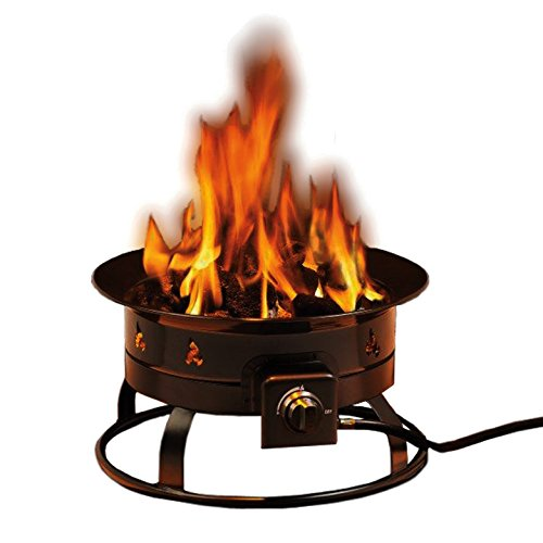 Heininger 5995 58,000 BTU Portable Propane Outdoor Fire Pit (Fire Propane Pits Outdoor Gas)