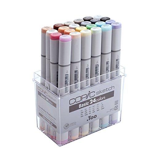 Copic Sketch set-Copic Sketch Basic 24 color set