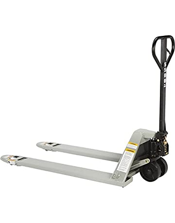 Strongway Low-Profile Pallet Jack—5500-Lb. Capacity