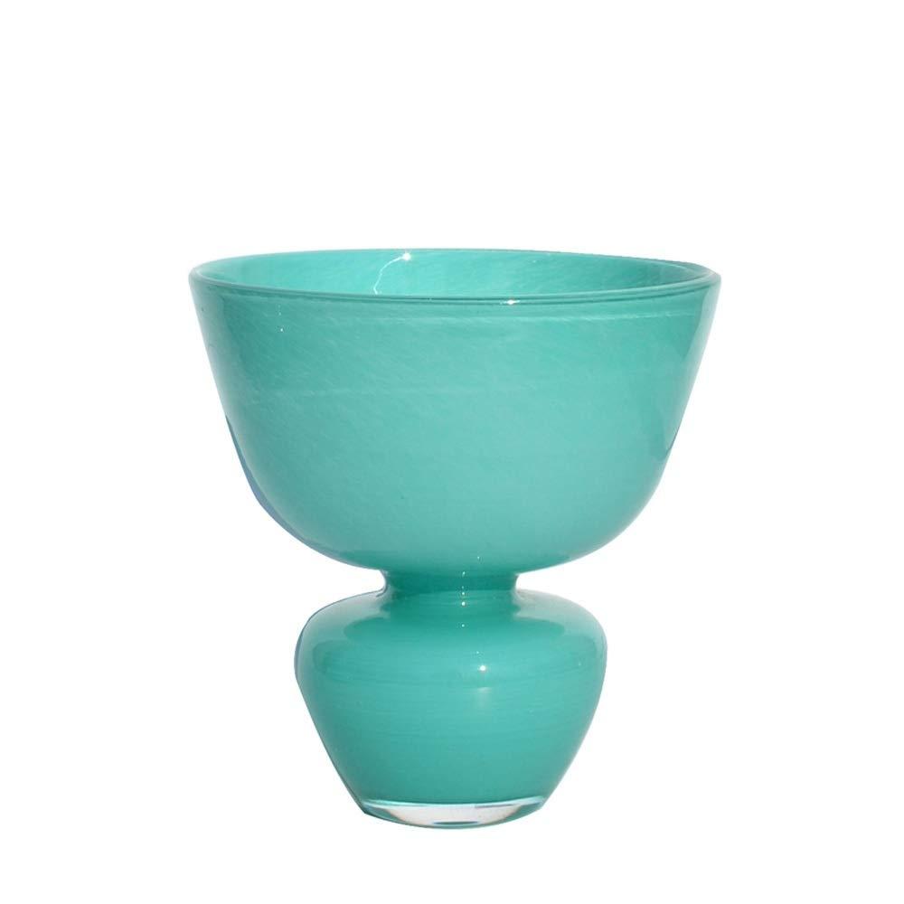 色ガラス花瓶用花緑植物結婚式の植木鉢装飾ホームオフィスデスク花瓶花バスケットフロア花瓶 (三 : B) B07R1J1PGQ  B