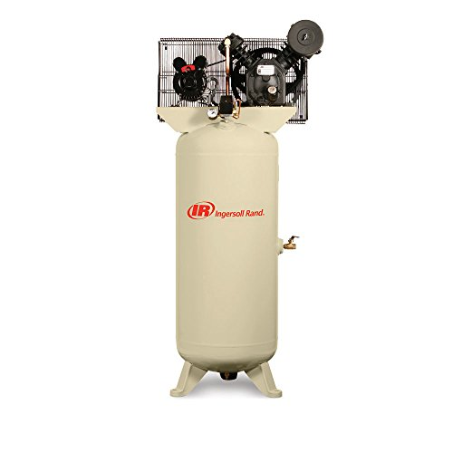 Ingersoll Rand Compressors 2340L5-VTS Electric-Driven Two-Stage-Standard , 5HP With Free Air Impact Wrench And Start Up (Stage Air Compressor Two Accessories)