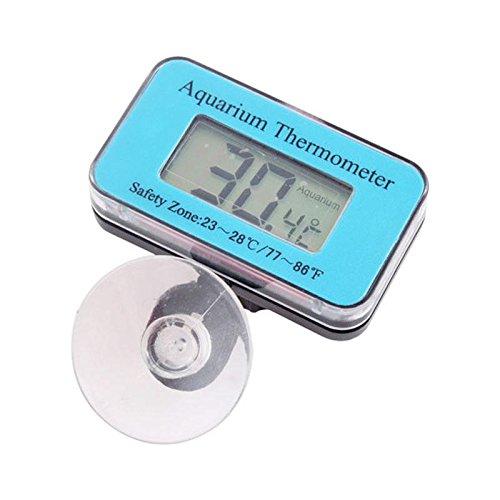 WXLAA Aquarium Thermometer Lcd Digital Submersible Fish Tank