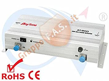 Amplificador de señal móvil GSM Tutti I gestori M² 1000 Antena at-800