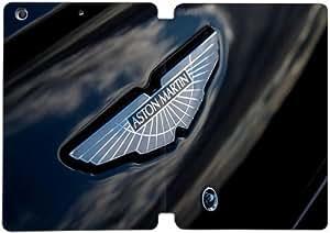 Modelo de moda portátil de cuero superior de la PU del caso del soporte del tirón del folio Funda para Ipad Mini 1 2 3 Aston Martin Logo 1L7F8R