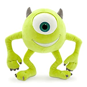 Disney Mike Wazowski Plush – Monsters, Inc. – Small – 10 1/2 Inch