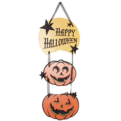 s - 3pcs Halloween Hanging Pumpkin Skull Ghost Flags Party Ornament Flag Decorative - Decorations Party Cardboard Ornaments ()