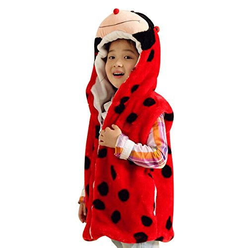 Hanstyle Cartoon Toddler/kids/child Role Play Costume Warm Hooded