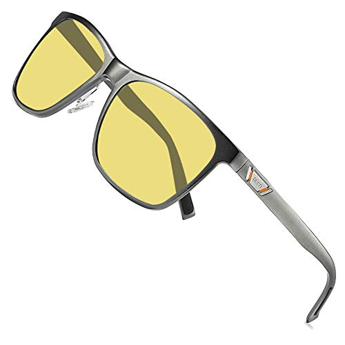 Duco Unisex HD Night vision Driving Glasses For Headlight Anti-glare