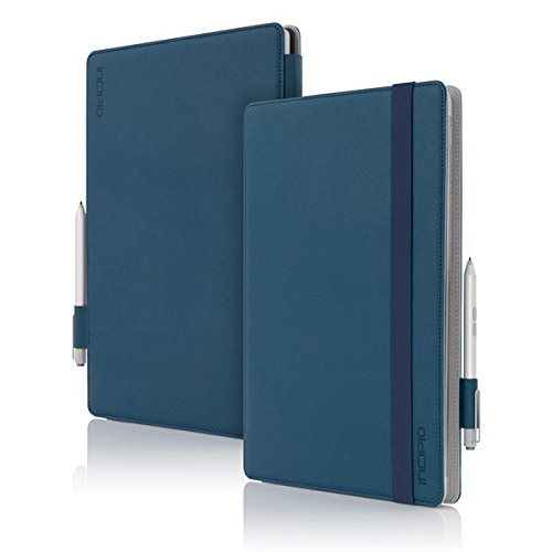 Incipio Microsoft Surface Pro 3 Case, Roosevelt [Slim Folio Case] for Microsoft Surface Pro 3-Dark Blue from Incipio