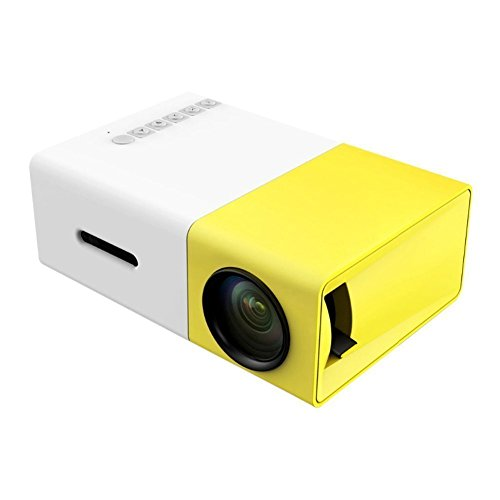 YG300 USB/SD/AV/HDMI Input Portable LED Projector Cinema Theater - 5