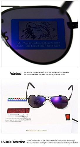 Soleil Miroir Lunettes pour pour UV400 Soleil XZP polarisées Polaroid Femmes Vintage de Soleil Conduite de Adultes 4 Mode Lunettes Hommes Grand Lunettes 7UW6WqnE