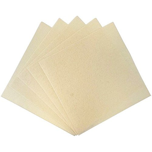 Just Artifacts 25pcs Craft Felt Sheets 12in x 12in Non Woven -