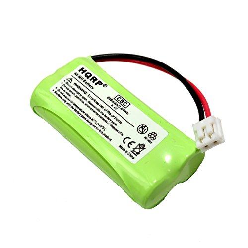 HQRP Cordless Telephone / Phone Battery for VTECH BT183348 BT283348 89-1326-00-00 / 89-1300-00-00 / 8913260000 / 89-1300-01-00 / 89-1330-01-00 Replacement plus Coaster