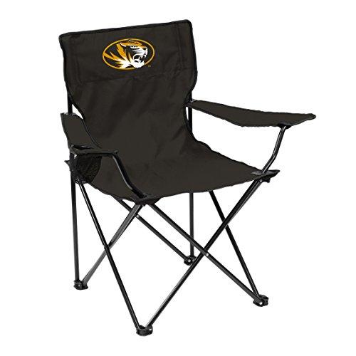 NCAA Missouri Tigers Adult Quad Chair, Black