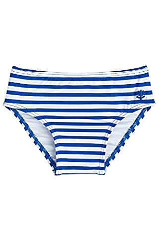 Coolibar UPF 50+ Baby Beach Bottom Cover - Sun Protective (18-24 Months - Blue Wave Stripe)