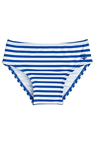 Coolibar UPF 50+ Baby Beach Bottom Cover - Sun Protective (18-24 Months- Blue Wave (Bottom Wave)