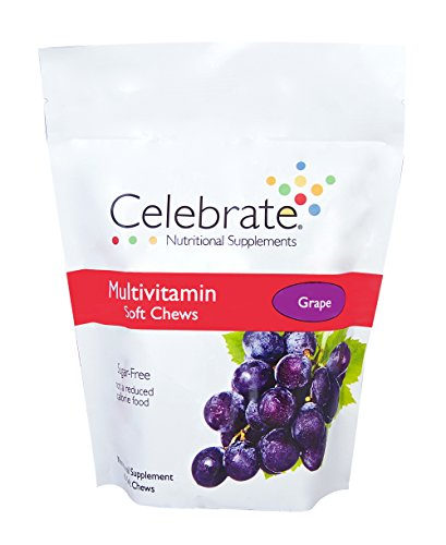 (Celebrate Multivitamin Soft Chew - Grape - 60 Count)