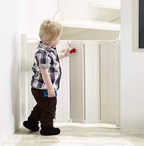 BabyDan Guard Me Retractable Safety Gate. Fits Spaces Between 21.7