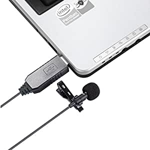usb microphone punasi usb light weight lavalier clip on lapel computer microphone. Black Bedroom Furniture Sets. Home Design Ideas