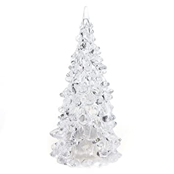 color changing icy crystal led christmas tree decoration night light lamp by ledchoice - Crystal Christmas Tree