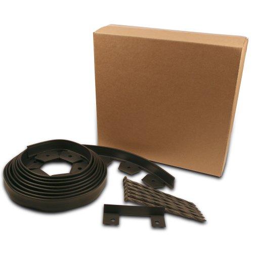 Dimex EasyFlex Plastic No-Dig Landscape Edging Kit, 20-Feet (3000-20C-6) (Patio And Concrete Brick Ideas)
