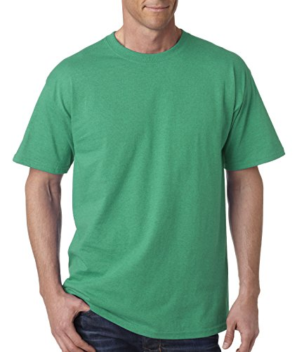 Gildan mens Ultra Cotton 6 oz. T-Shirt(G200)-ANTIQ IRISH GRN-2XL - Brown Mens Shirt