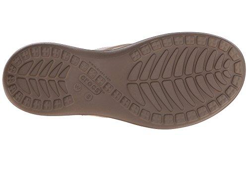 Crocs Donna Capri V Flip Noce
