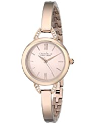 Bulova Caravelle New York Women's 44L133 Rose Stainless Steel Watch