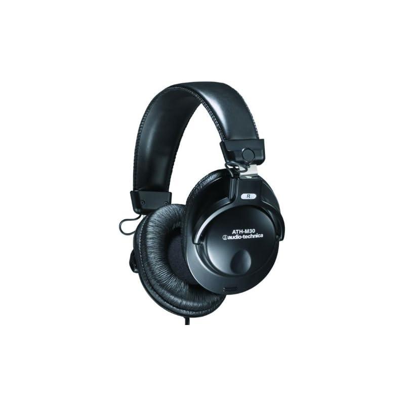 Audio-Technica ATH-M30 Closed-Back Headp