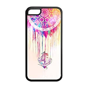 5C Phone Cases, Dreamcatcher Anchor Hard TPU Rubber Cover Case for iPhone 5C