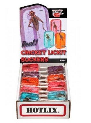Cricket Lick-It Lollipops - 36 / Box