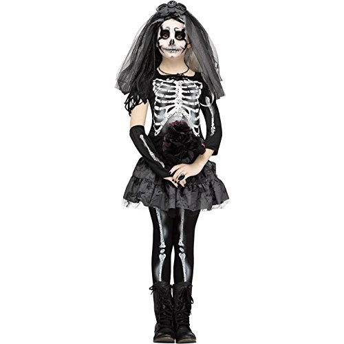 Fun World Skeleton Bride Costume