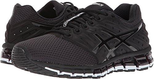 Asics Womens Gel-Quantum 180 2 MX Running Shoes Phantom/Black/White 7.5 B(M) US by ASICS