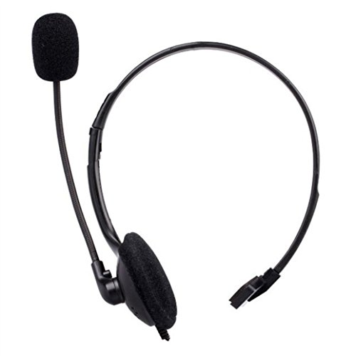 TAOtTAO Wired Headset Headphone Earphone Microphone for Sony PlayStation 4 PS4 Game