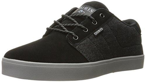 Osiris Black-White-Hawaiian Mesa Shoe Black/Charcoal/Black 3XMURgwEQS