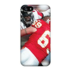 Iphone 5/5s NYR15645RVNG Provide Private Custom High-definition Kansas City Chiefs Image Shock Absorption Hard Phone Case -RichardBingley