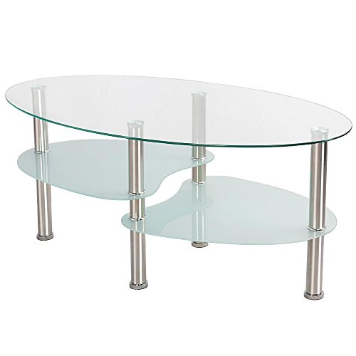 Oval Coffee Table With Metal Legs: Compare Price To Round Coffee Table Chrome