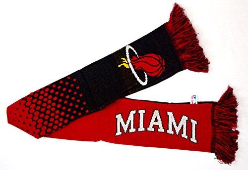 Miami Heat NBA basket rouge noir cadeau écharpe tricotée USA officielle