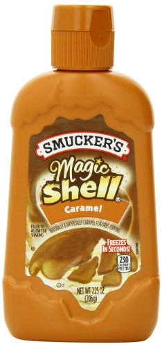 Smucker's Magic Shell Caramel Flavored Topping, 7.25 Ounce