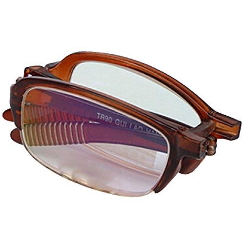 Plegable Memoria Ocio Brown Brown Lectura Gafas Miope HAOYUXIANG Superelasticidad E5qxxz