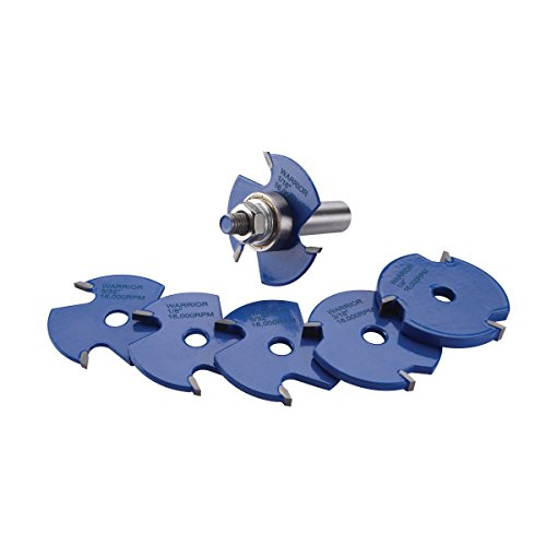 7 Slot Cutter Set for Table Routers