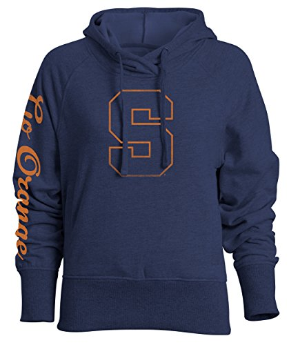 Ncaa Heavenly Womens Relaxed Fit Pullover Hood  Navy  Xx Large