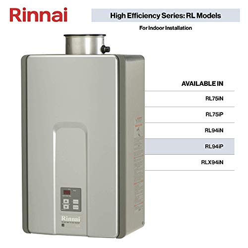 Rinnai RL Series HE+ Tankless Hot Water