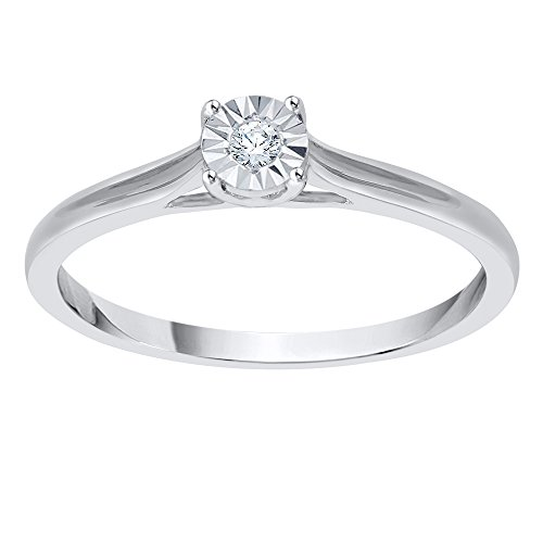 1//20 cttw, Size-3.25 G-H,I2-I3 Diamond Wedding Band in 14K White Gold
