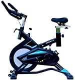 LEEWAY Spin Bike S-104 Spine Fitness Exercise Equipment (Blue)