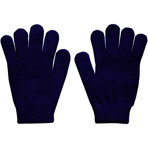 Winter Navy Magic Gloves - Warm Magic Gloves In Classic Navy (Lady In The Navy Gloves)