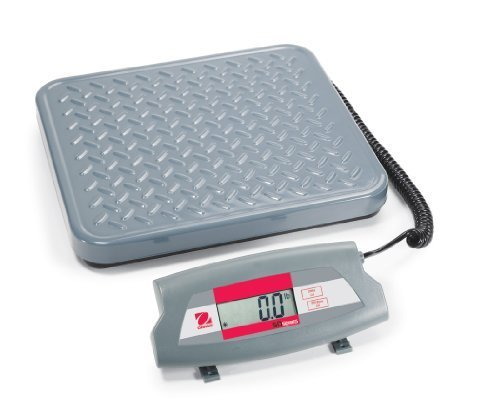 Ohaus Bench & Floor Scales - SD Shipping Scale Model SD35, 77lb x 0.05lb / 35kg x 0.02kg<BR>Platform Size 12.4 in x 11 in / 316 x 280 mm by Ohaus