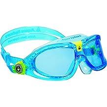 Aqua Sphere Kid's Seal Kid 2 Goggles with Blue Lens, Aqua